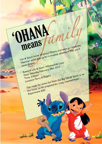 Lilo and Stitch Invitation Awesome Pinterest • the World's Catalog Of Ideas