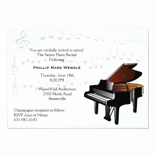 Line Play Invitation Code Luxury Baby Grand Piano Invitation