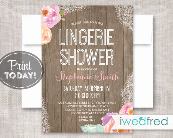 Lingerie Shower Invitation Wording Best Of Lingerie Shower Invitation Lingerie Shower Invitation