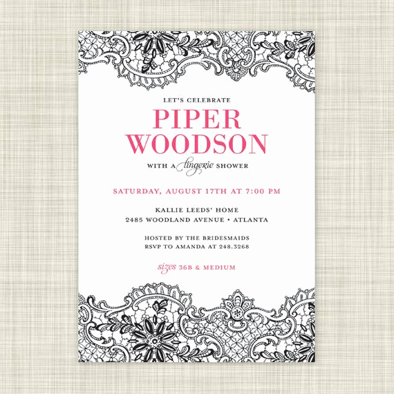 printable lingerie shower invitations