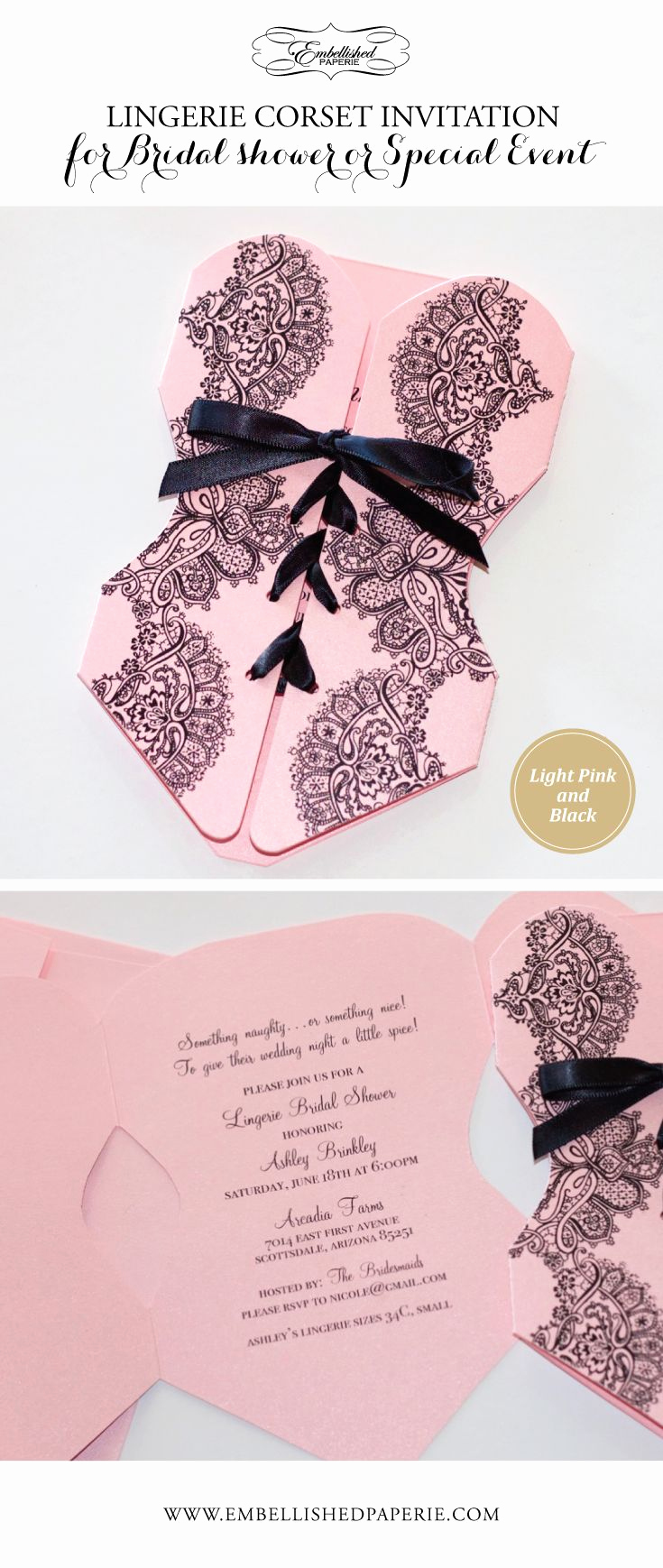 Lingerie Shower Invitation Wording Luxury Best 25 Corset Invitations Ideas On Pinterest