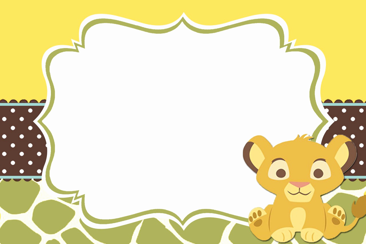 Lion King Invitation Template Fresh Baby Lion King Shower and Mini Diaper Cake Table