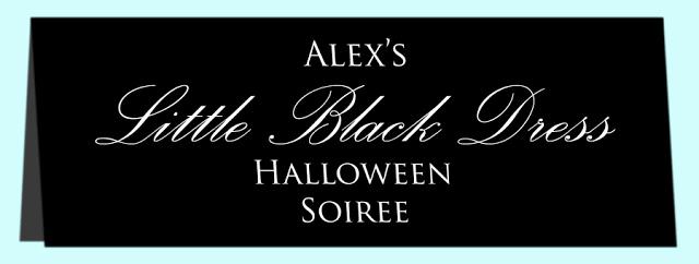 "Little Black Dress Invitation Awesome Ooh La Frou Frou A ""little Black Dress"" Halloween soiree"