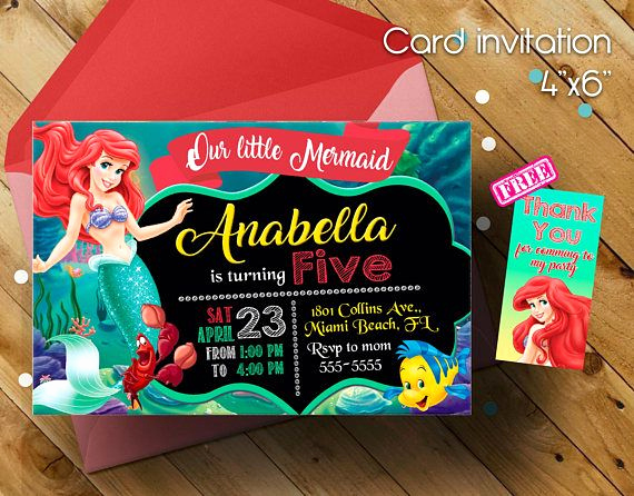 Little Mermaid Invitation Ideas Best Of Best 25 Little Mermaid Invitations Ideas On Pinterest