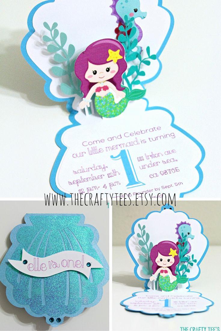 Little Mermaid Invitation Ideas Lovely 25 Best Ideas About Mermaid Invitations On Pinterest