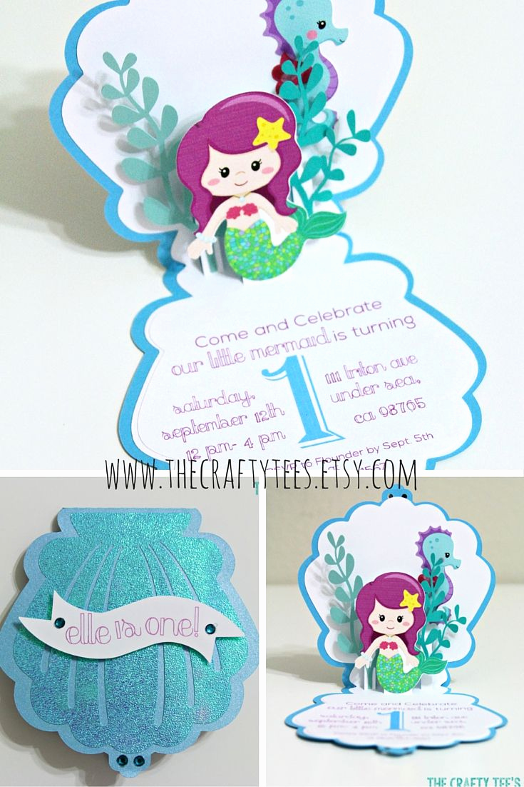 Little Mermaid Invitation Wording Fresh 25 Best Ideas About Mermaid Invitations On Pinterest