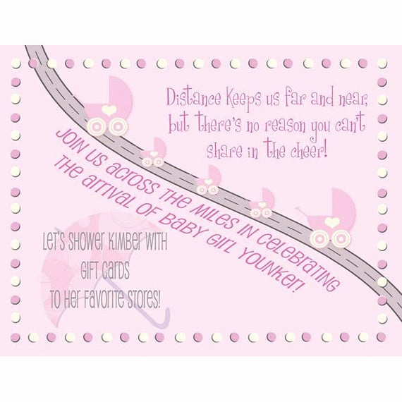 Long Distance Baby Shower Invitation Elegant Baby Shower Invitation Long Distance Boy or by Mymommysdesigns