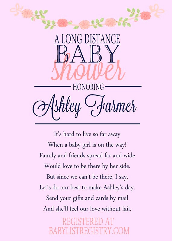 Long Distance Baby Shower Invitation Elegant Best 25 Virtual Baby Shower Ideas On Pinterest