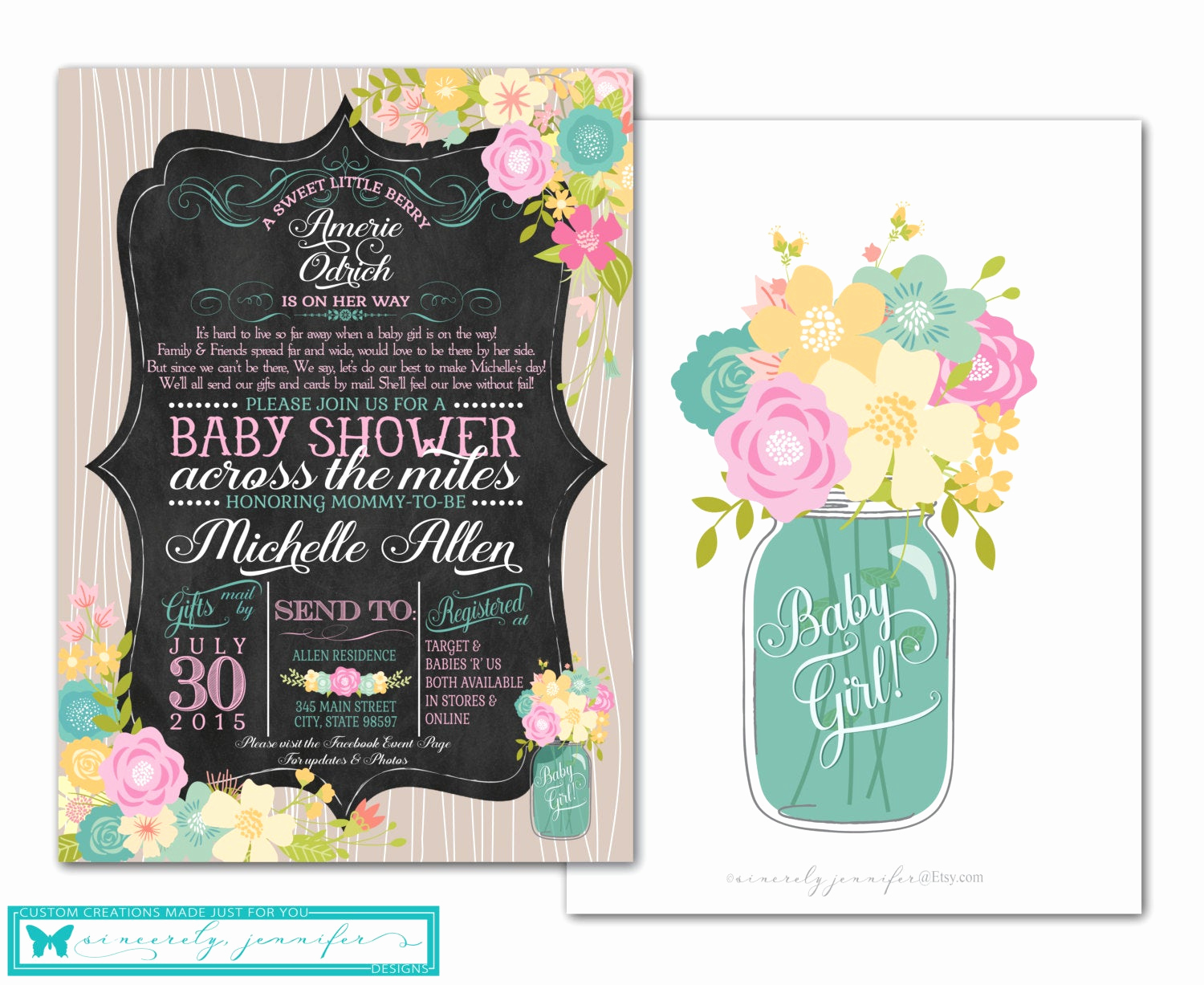 Long Distance Baby Shower Invitation Inspirational Long Distance Baby Shower Invitation & event Banner