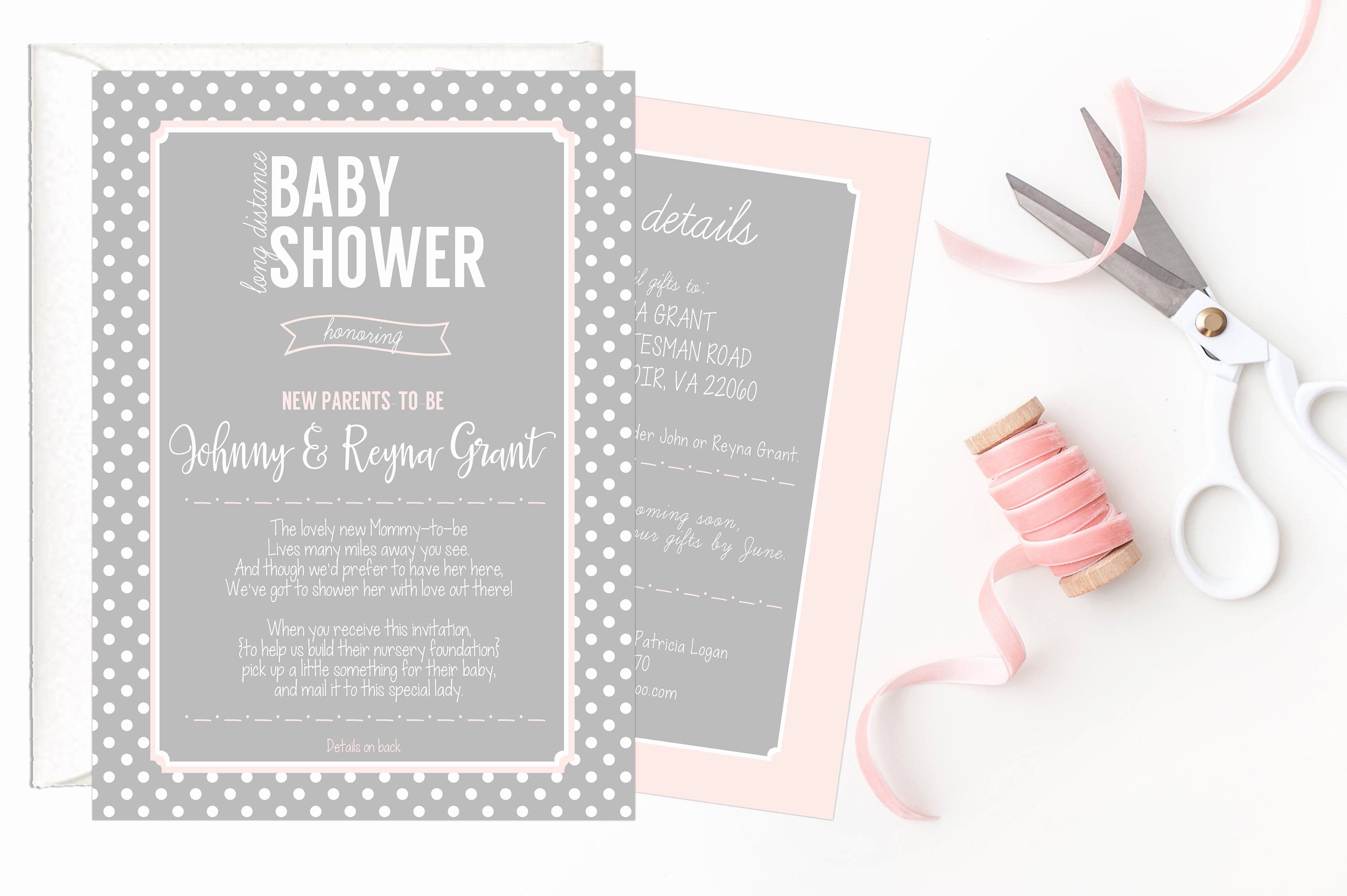 Long Distance Baby Shower Invitation Inspirational Long Distance Baby Shower Invitation