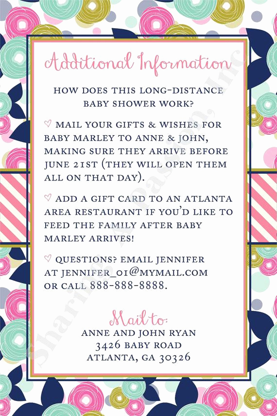Long Distance Baby Shower Invitation New Best 25 Virtual Baby Shower Ideas On Pinterest