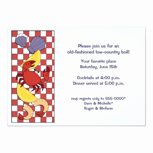 Low Country Boil Invitation Inspirational Low Country Boil Invitation