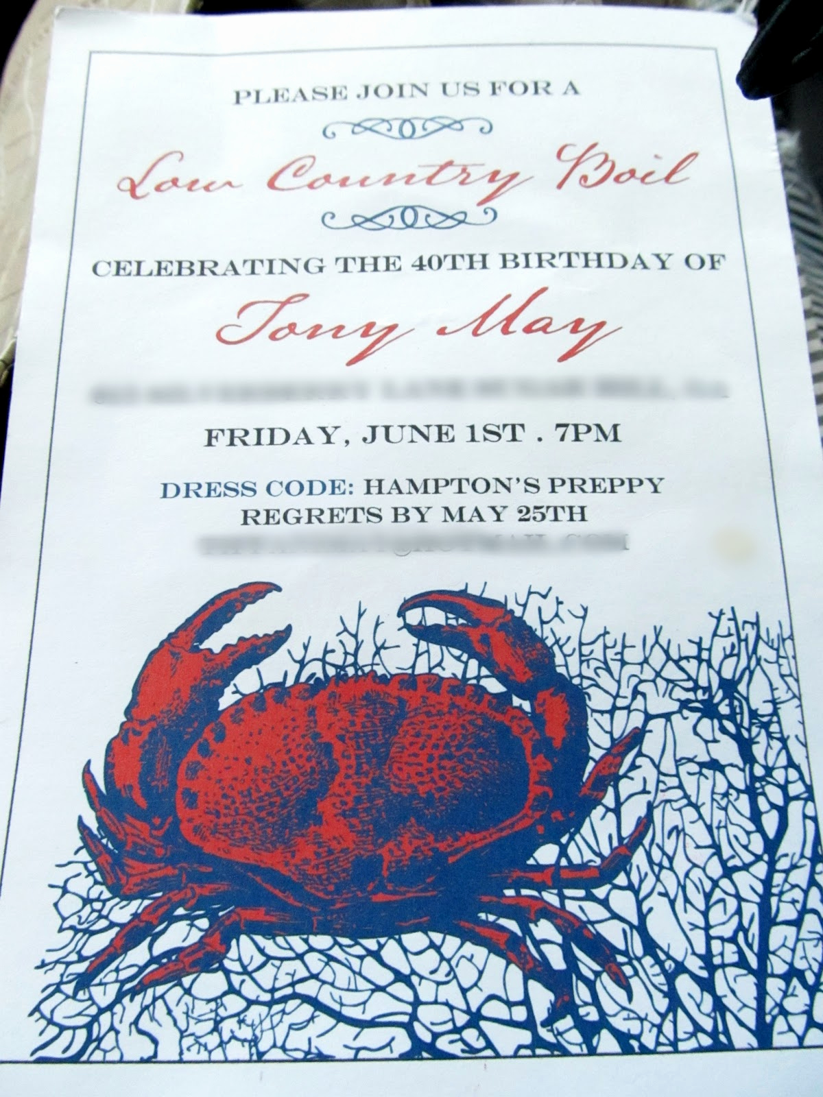 Low Country Boil Invitation Inspirational Weekend Wrap Party Low Country Boil Party Parties for