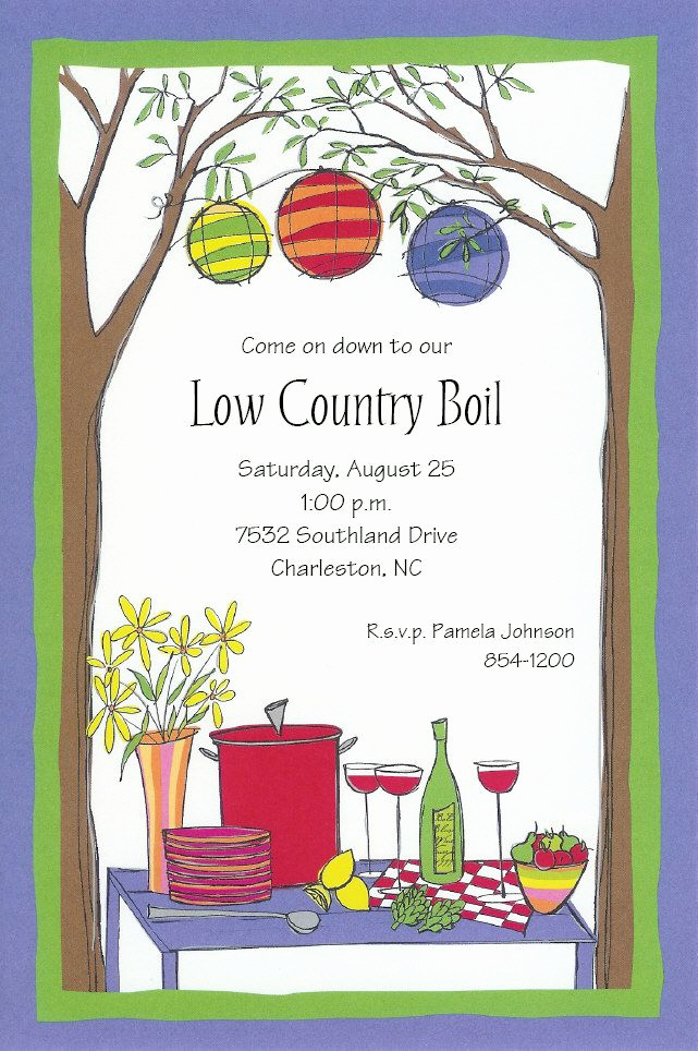 Low Country Boil Invitation New 30 Best Images About Low Country Boil Party On Pinterest