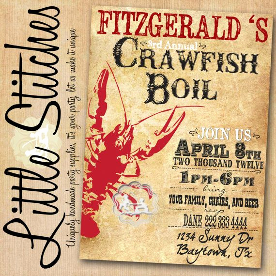 Low Country Boil Invitation Wording Best Of 29 Best Scott S Birthday Images On Pinterest