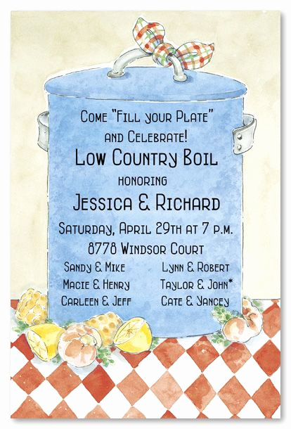 Low Country Boil Invitation Wording Luxury 1000 Images About Low Country Boil Decorating Ideas On