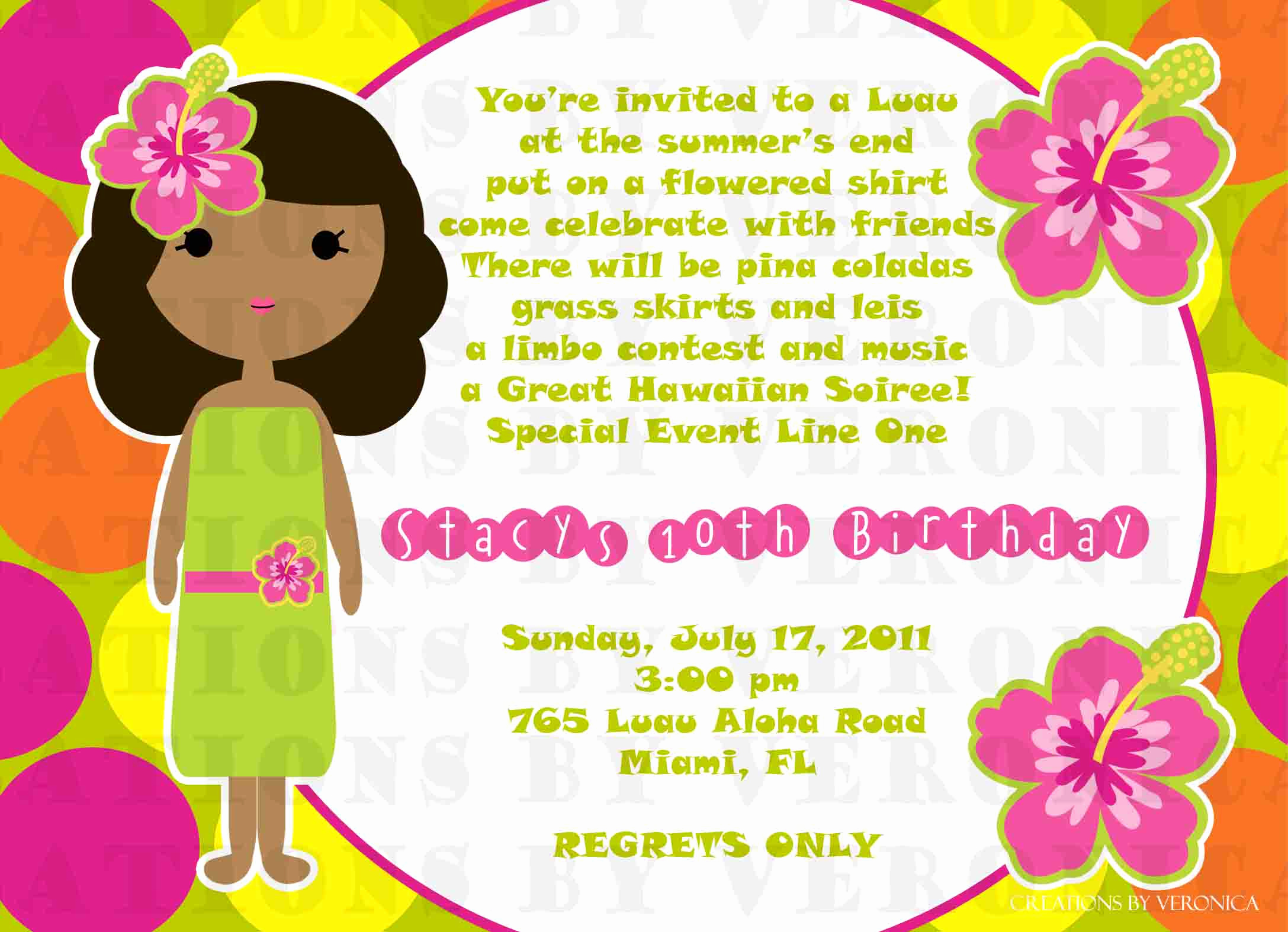 Luau Birthday Invitation Wording Lovely Hawaiian Quotes Birthdays Quotesgram