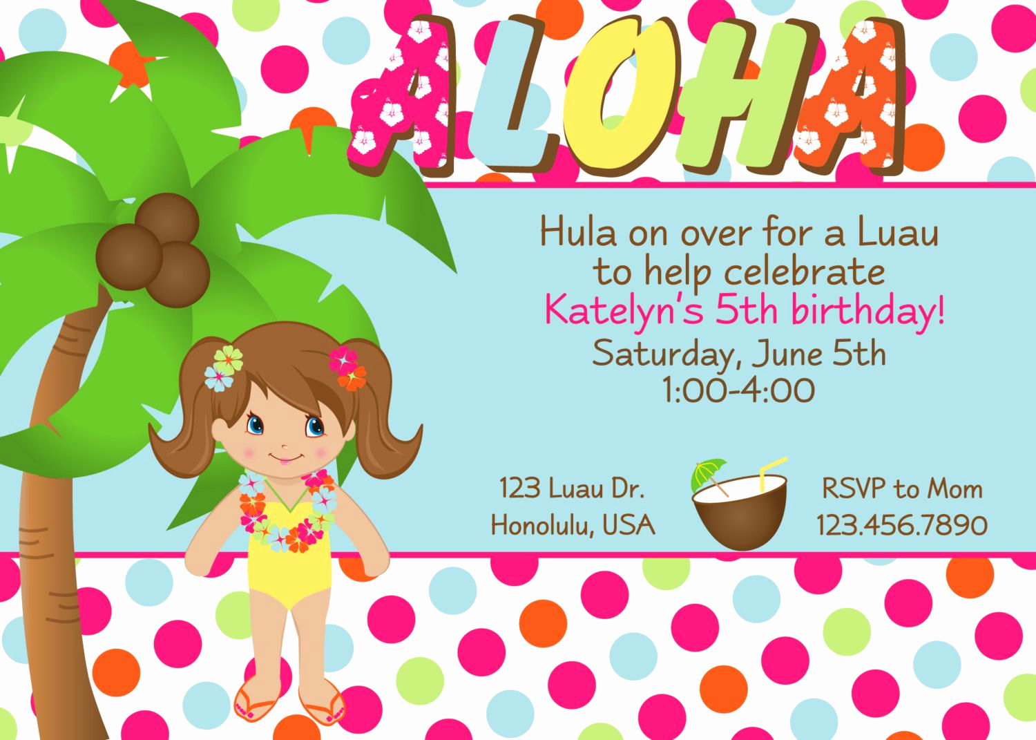 Luau Party Invitation Template Best Of Others Custom Luau Invitations for Your Tropical Getaway