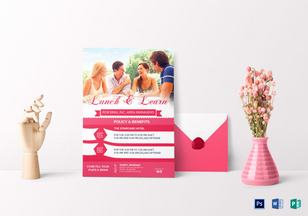 Lunch and Learn Invitation Elegant 27 Lunch Invitation Designs & Examples Psd Ai Vector Eps