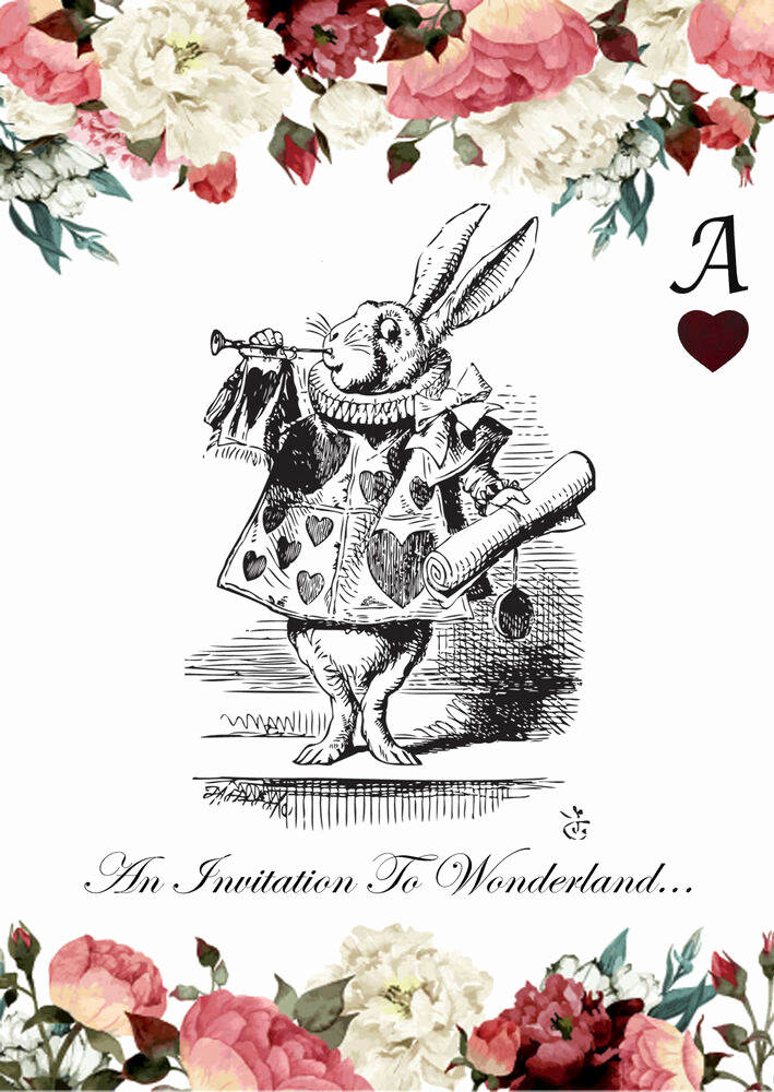 Mad Hatters Tea Party Invitation Inspirational Alice In Wonderland Invites Birthday Tea Party Invitations