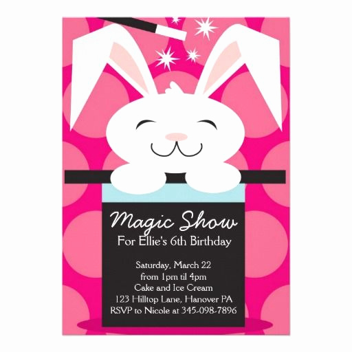 Magic Show Invitation Template Free Lovely 1000 Images About Magic Show Birthday Party Invitations