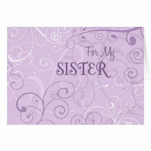 Maid Of Honor Invitation Ideas Best Of Purple Swirls Sister Maid Of Honor Invitation Card