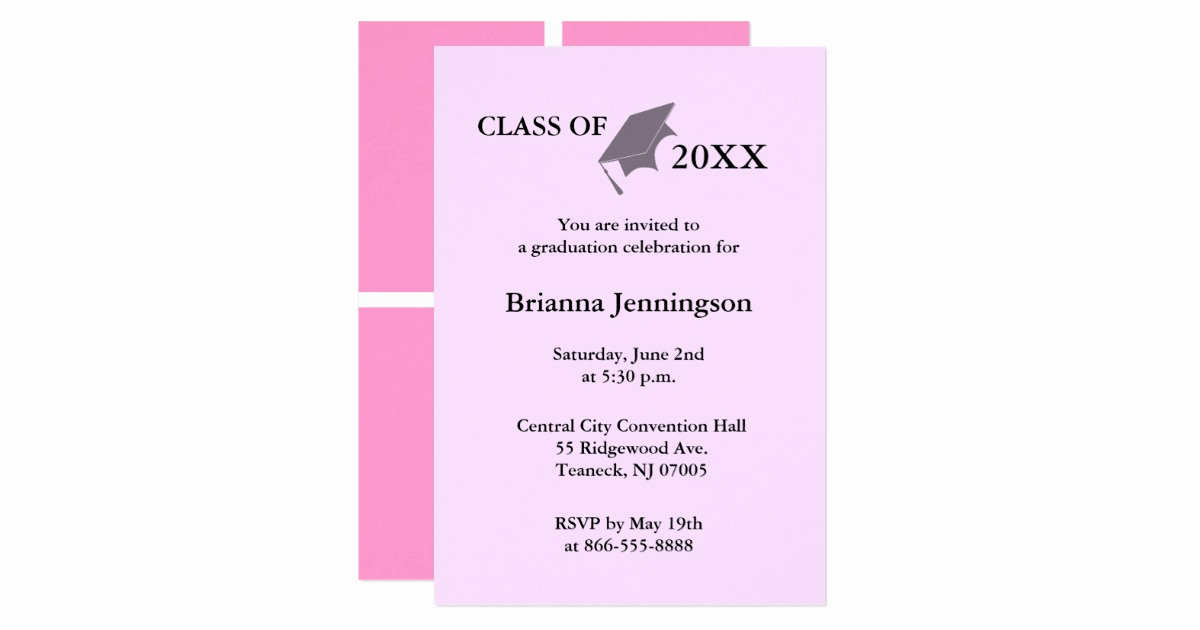 Make A Graduation Invitation Awesome Create Your Own Graduation Invitation 7