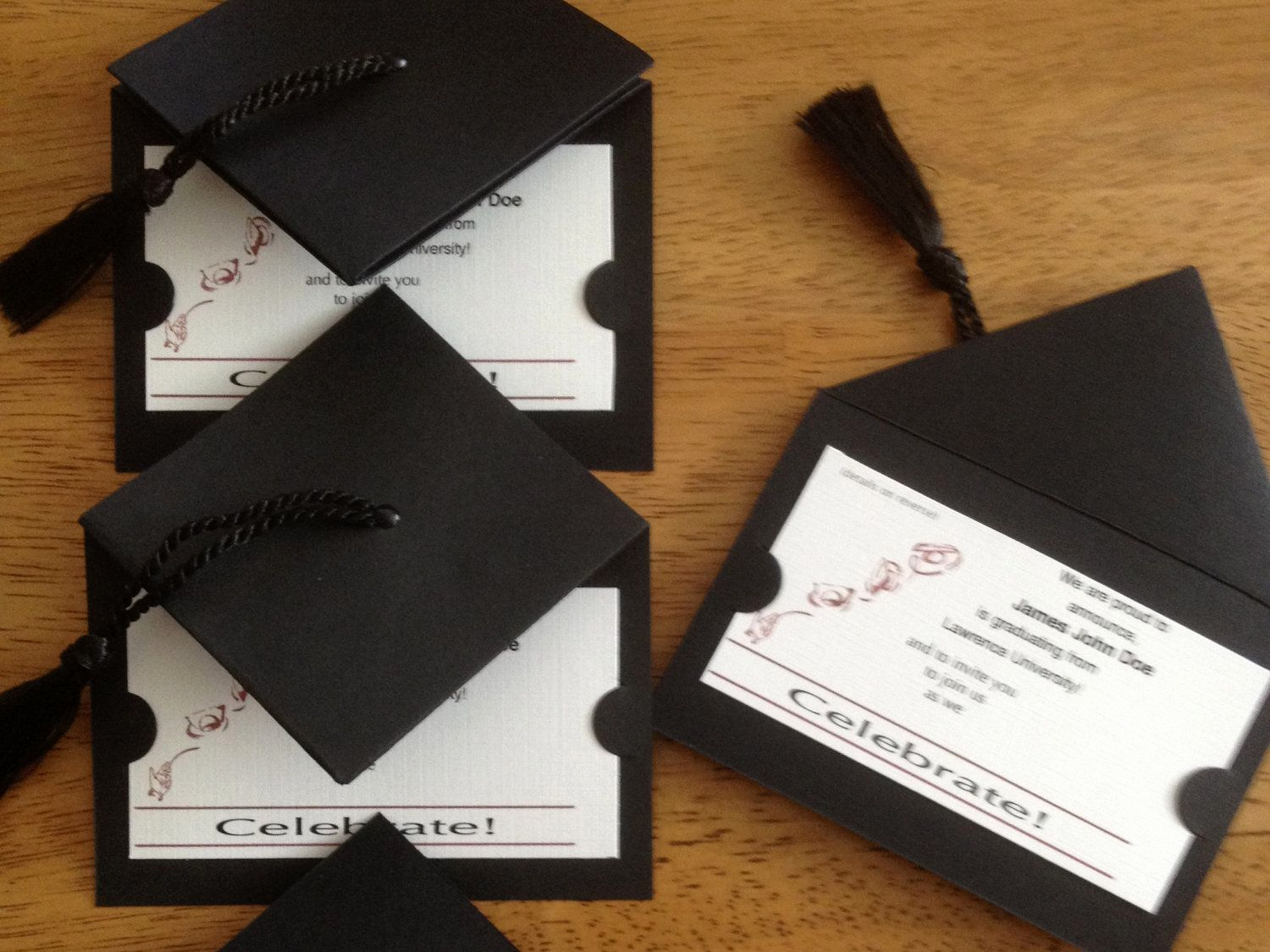 Make A Graduation Invitation Best Of Graduation Cap Invitation