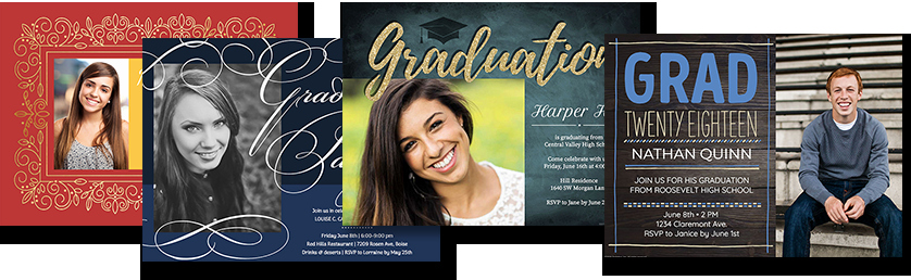 Make A Graduation Invitation Best Of Line Graduation Invitations From Smilebox Guarantee
