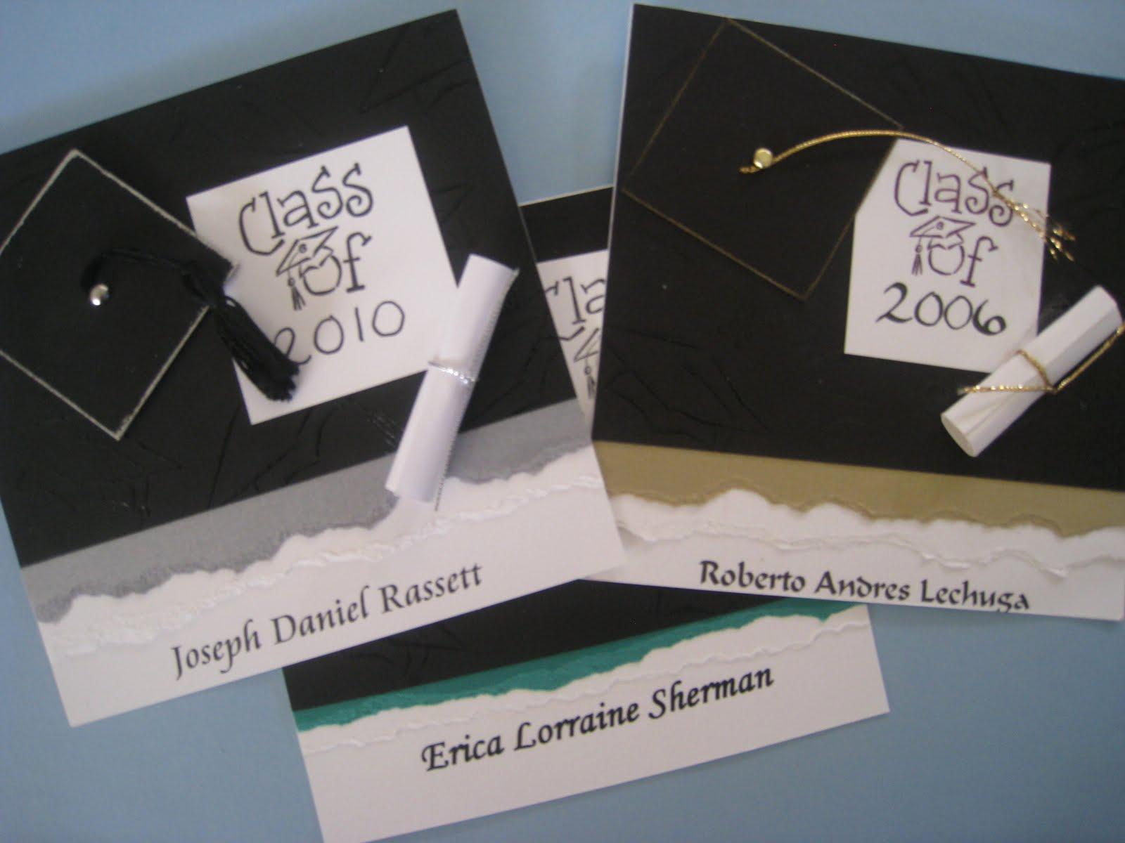 Make A Graduation Invitation Elegant Maria S Paper Gift Exchange Graduation Announcements