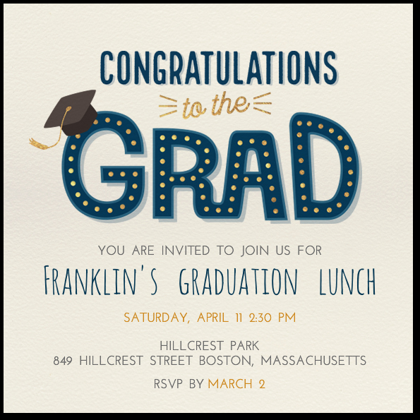 Make Your Own Graduation Invitation Awesome top 20 Sites to Make Graduation Party Invitations
