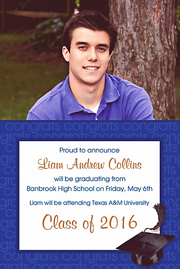 Make Your Own Graduation Invitation Fresh top 20 Sites to Make Graduation Party Invitations