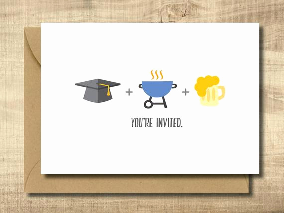 Make Your Own Graduation Invitation Lovely Printable Graduation Party Invitation Card Make Your Own