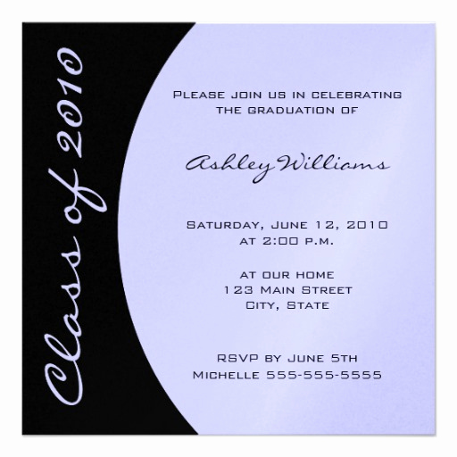 "Make Your Own Graduation Invitation New Choose Your Own Color Graduation Invitations 5 25"" Square"