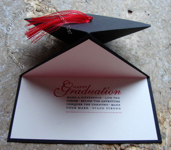 Making A Graduation Invitation Elegant Graduation Cap Spring Card