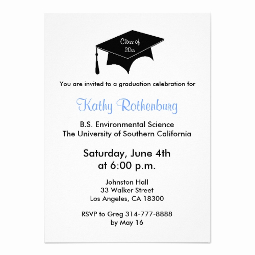 Making A Graduation Invitation Inspirational Graduation Celebration Gifts and Back to School Supplies