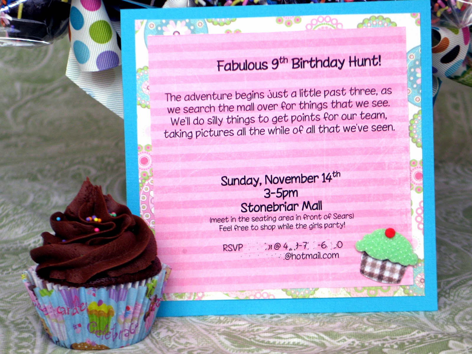 Mall Scavenger Hunt Invitation Best Of the Blackberry Vine Mall Scavenger Hunt Birthday Party