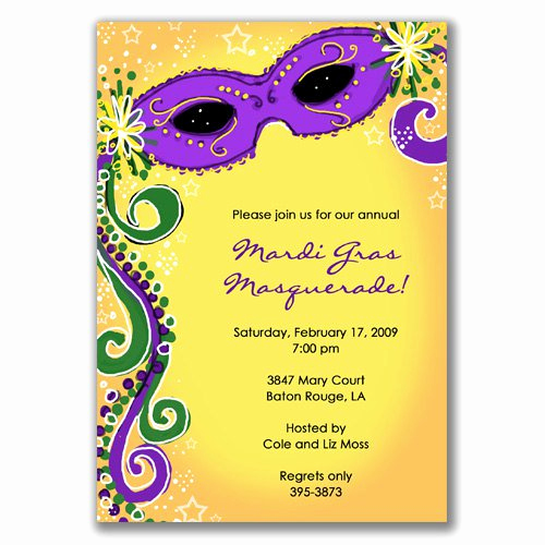 Mardi Gras Invitation Ideas Lovely Blank Masquerade Invitations