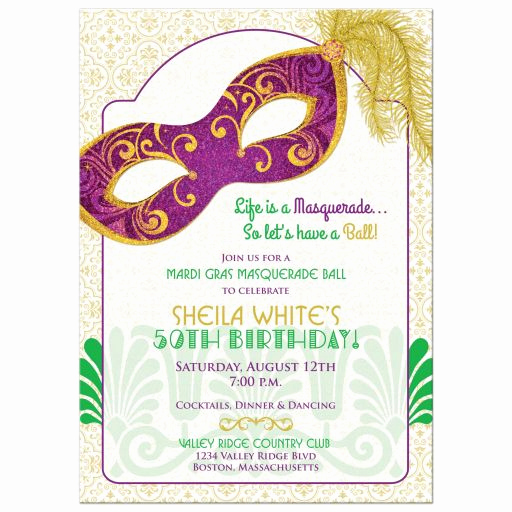 Mardi Gras Invitation Ideas Luxury Best Adult Birthday Party Ideas Part 2