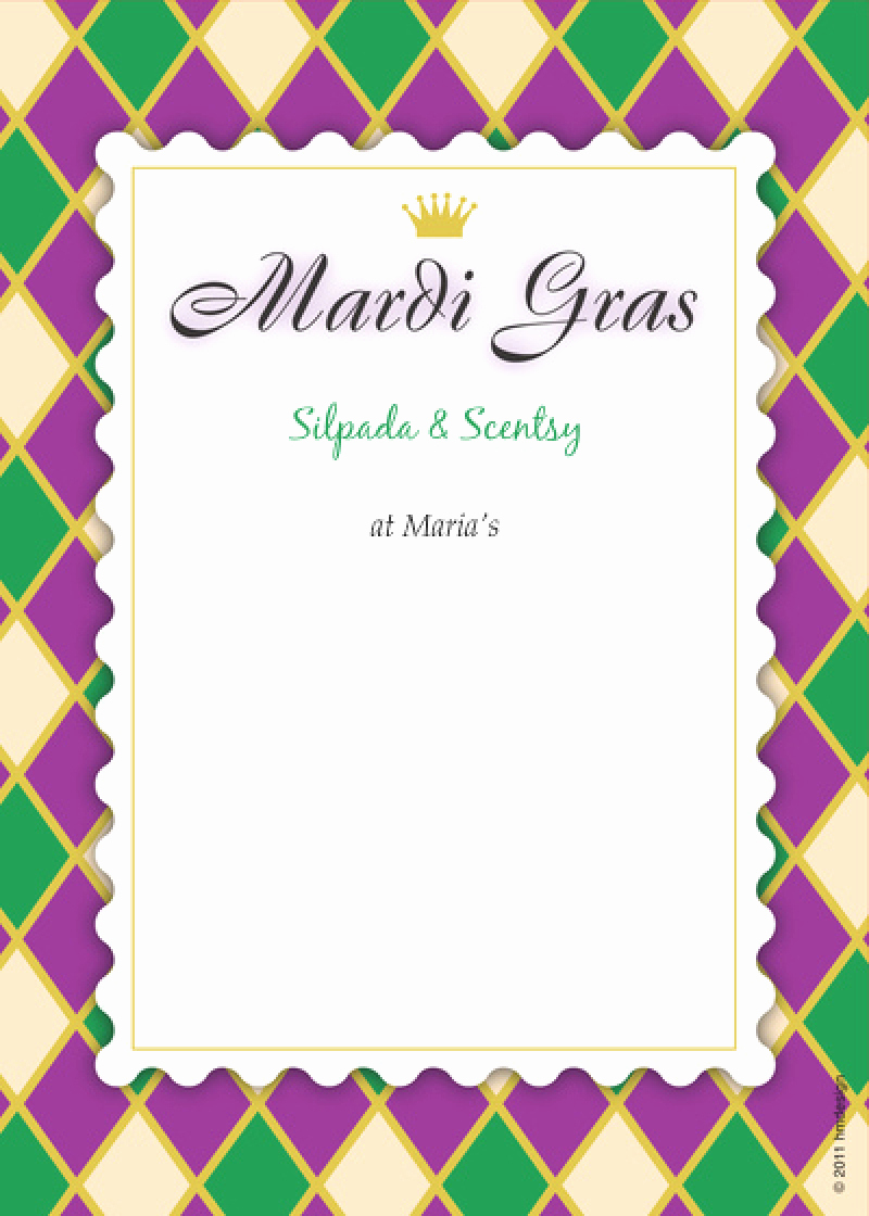 Mardi Gras Invitation Template Lovely Mardi Gra Invitations