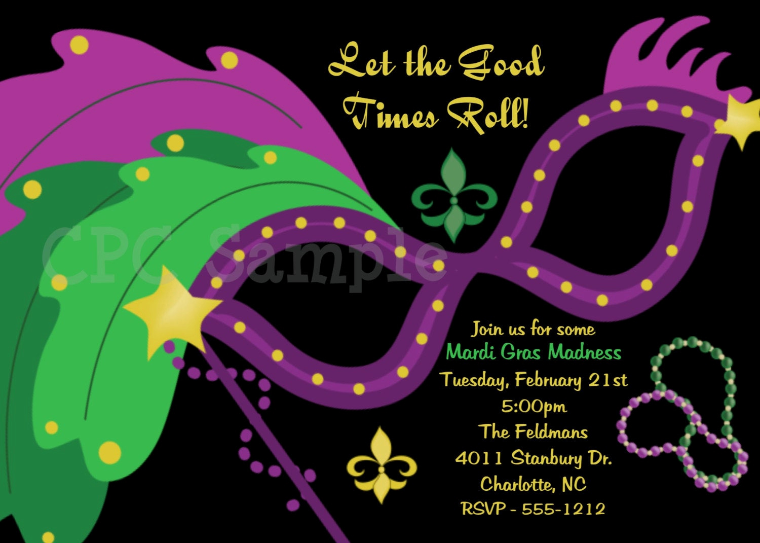 Mardi Gras Invitation Wording Fresh Mardi Gras Mask Party Invitation Masquerade Ball Party