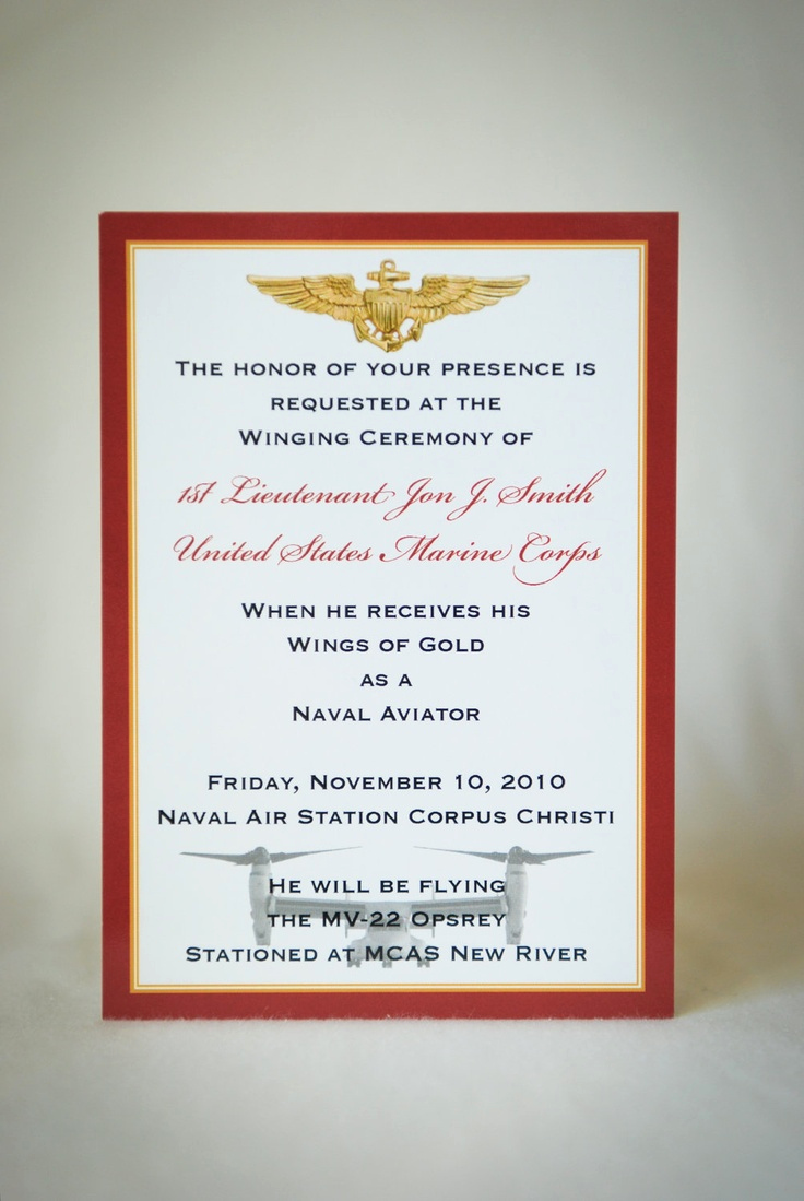 Marine Corps Retirement Invitation Elegant 108 Best Party Brian S Retirement Ceremony Images On