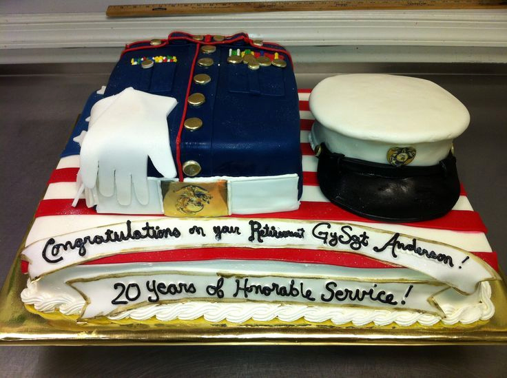 Marine Corps Retirement Invitation Lovely Marine Cakes Google Search