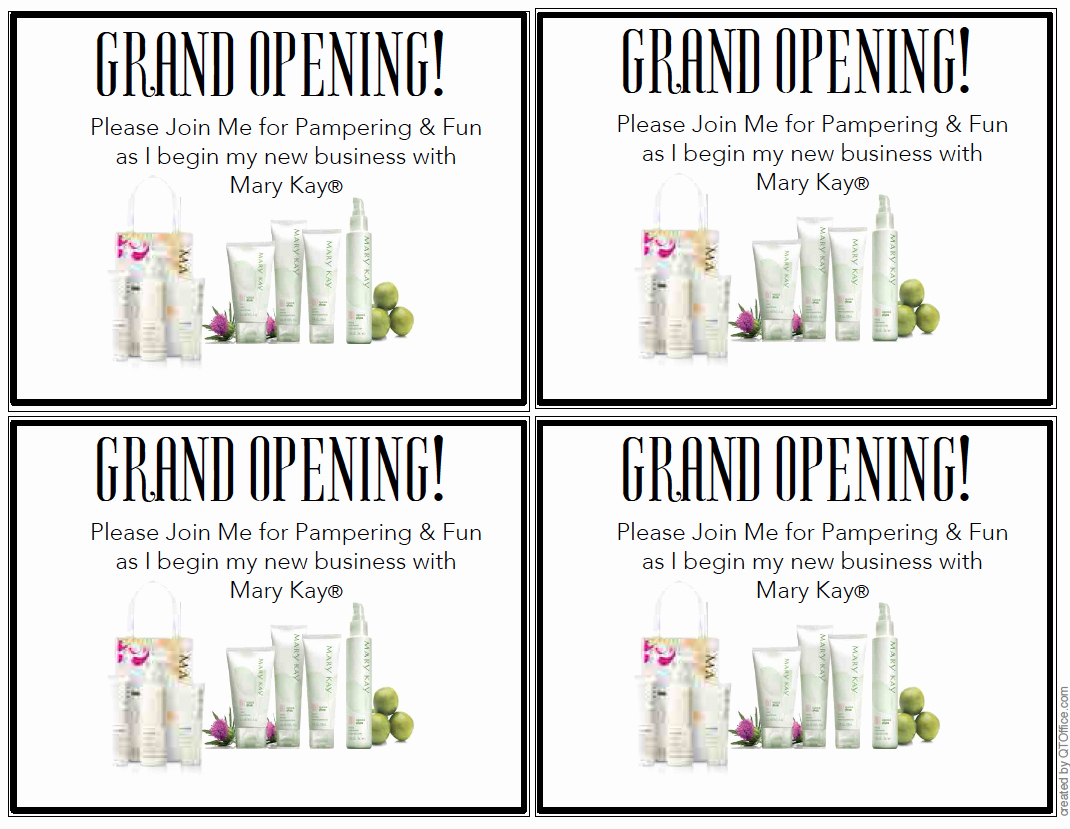 Mary Kay Debut Party Invitation Best Of Mary Kay Grand Opening Invitations