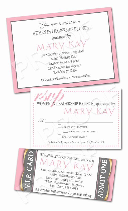 Mary Kay Debut Party Invitation Best Of Paper Perfection Mary Kay Women In Leadership Brunch