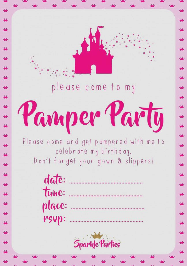 Mary Kay Debut Party Invitation Elegant Party Invitations Cards Mary Kay Party Invitations