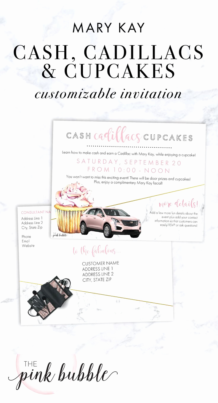 Mary Kay Debut Party Invitation Lovely 6857 Best Images About Idées Mary Kay On Pinterest