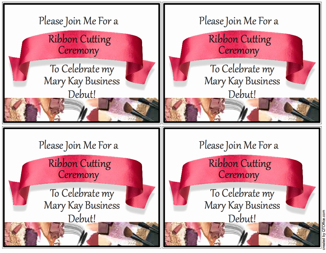Mary Kay Debut Party Invitation Unique Sandy Valerio Unit Website Us Tc Invitations
