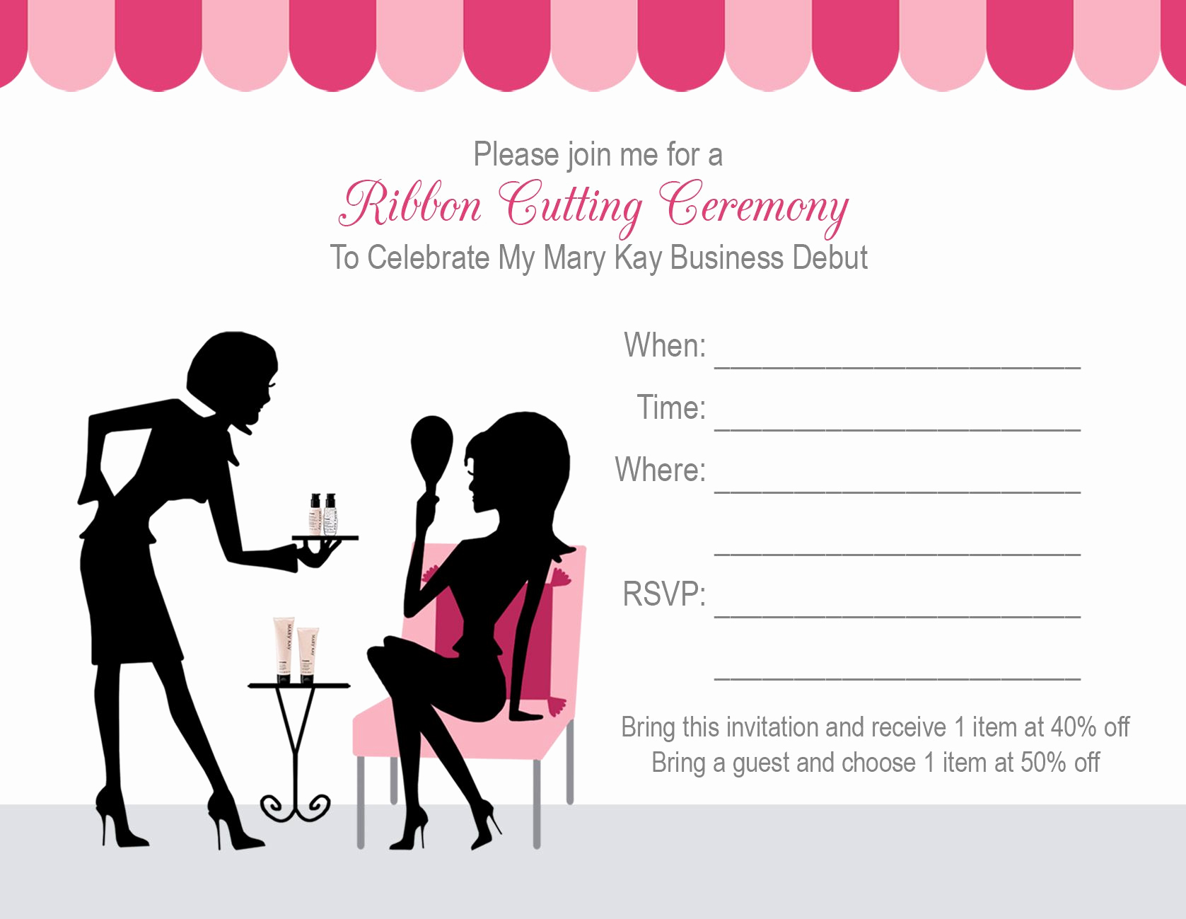 Mary Kay Invitation Template Unique Mary Kay Debut Party Ideas 1000 Images About Mk Debut On
