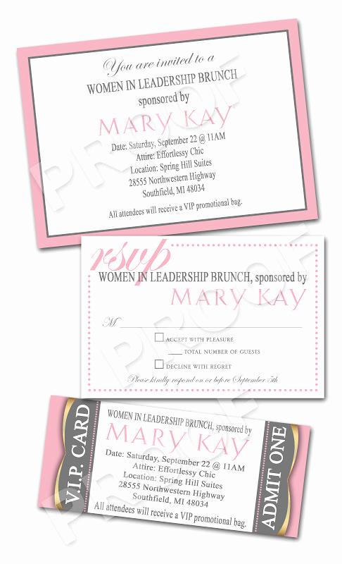 Mary Kay Invitation Templates Unique Mary Kay Invitation Free
